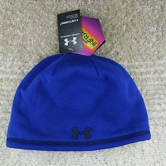 eb882e755e1 Under Armour Storm 1 Coolgear Beanie Hat One Size